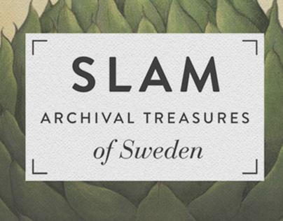 Logo and brand identity for SLAM