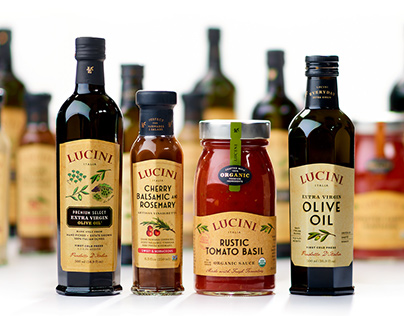 Lucini Packaging Refresh