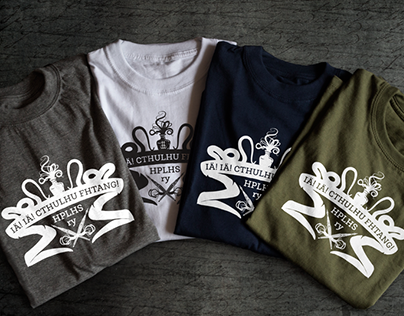 H. P. Lovecraft Historical Society (Finland) t-shirts