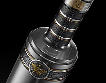 LEGIONER. Vodka. Restyling of packaging design.