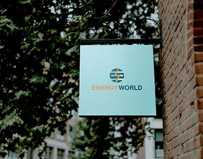 Logo for renewable and electrical energy company