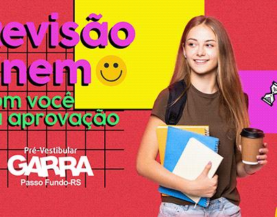 GARRA PASSO FUNDO | Campanha Revisão Enem