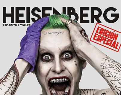Revista HEISENBERG - 1er Lugar Diseño Editorial (Univ.)