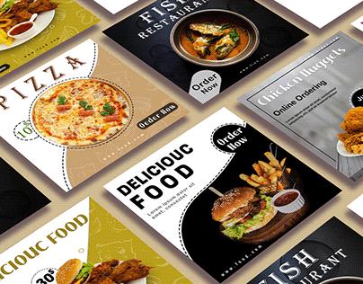 Social Media Posts || Resturant Food