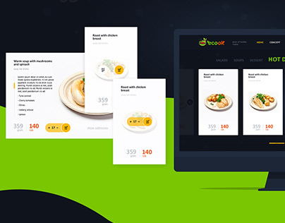 Web site for Ecook