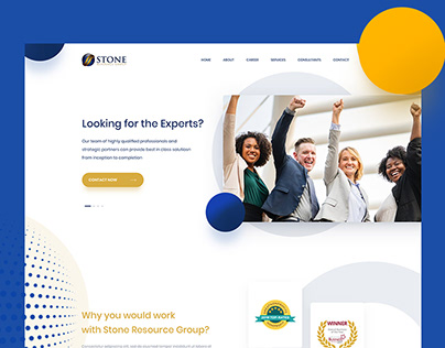 Stone Resource Group - Landing page