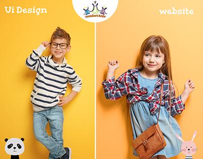 Comfort Kids - Ecommerce Website For Kids Clothes