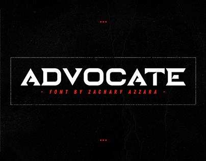 Advocate Font
