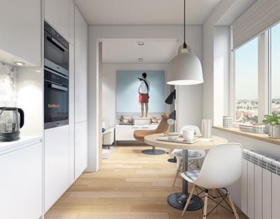 Apartment in Kiev / Квартира в Киеве
