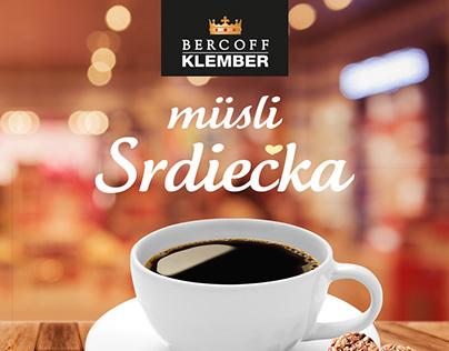 KLEMBER - Müsli srdiečka - obalový dizajn