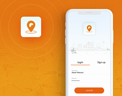 Delivery Boy Tracking :: Mobile Application