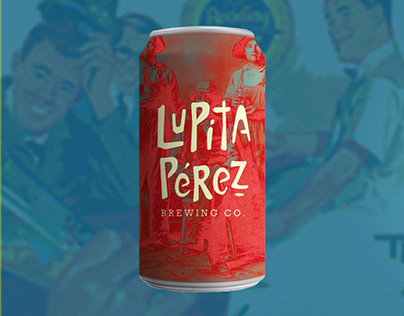 Lupita Pérez Brewing Co - Logotype