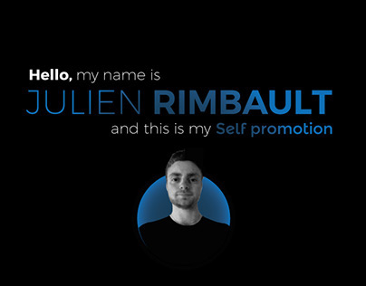 Web & Graphic Designer Self Promotion