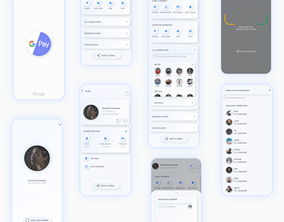 Google Pay - UX/UI Redesign Concept