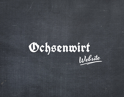 Webdesign Ochsenwirt