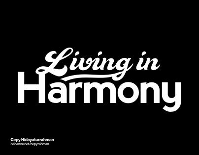 Living in Harmony Logo | Rebranding CSR Logo