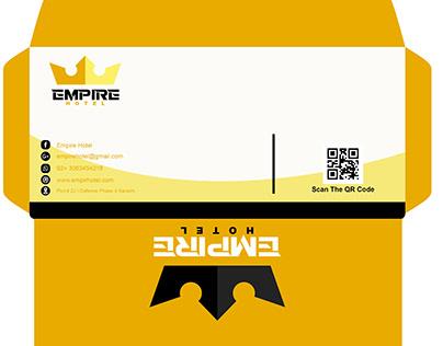 Empire Hotel Envelop