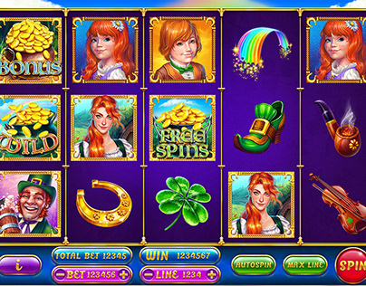"Online slot machine – ""Leprechaun"""