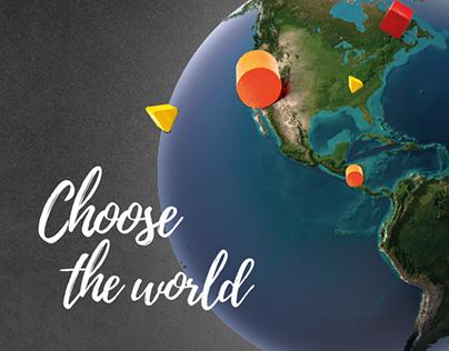 Campanha Choose the world PlayPen