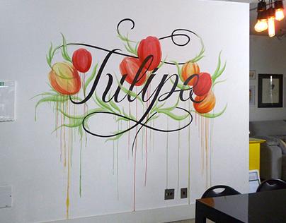 Tulips in MaxHaus
