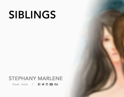 SIBLINGS | Watercolor