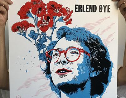 Erlend Øye (screenprint Poster) Buenos Aires