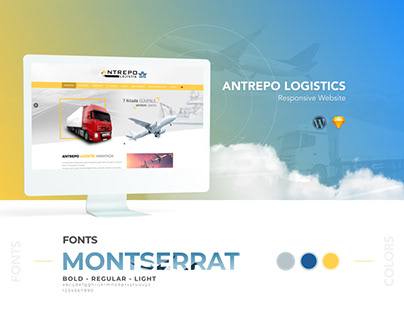 Antrepo Logistics Responsive Website