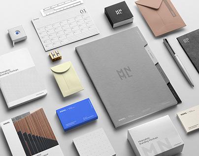 MNML / Branding Mockup Templates