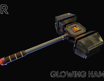Glowing hammer