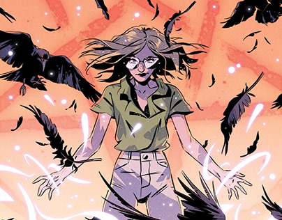 An Unkindness of Ravens #5 Variant Cover