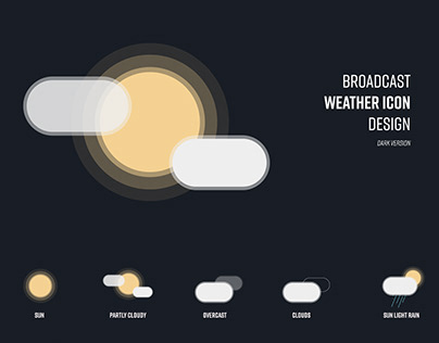Weather Icons Designs