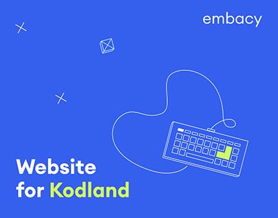 Kodland: Website