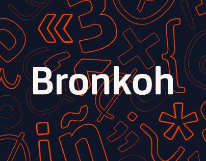 Bronkoh Typeface