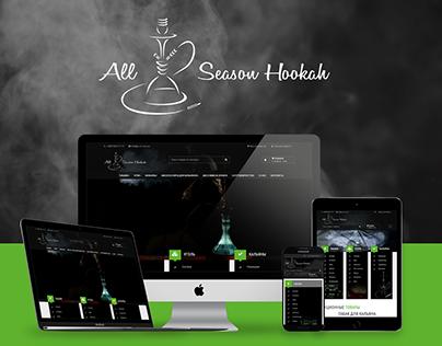 Интернет-магазин кальянов и табаков All Season Hookah