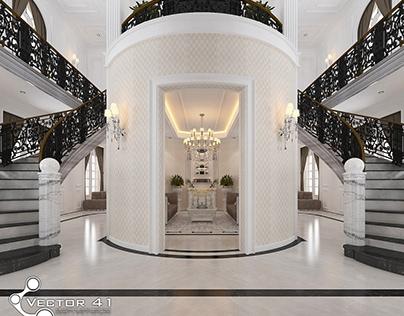Desain Interior Rumah Klasik - Jambi (Mrs. L)