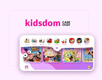 Kidsdom - Kids video streaming app