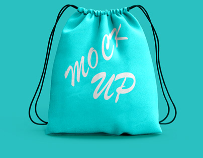 free sport bag mockup