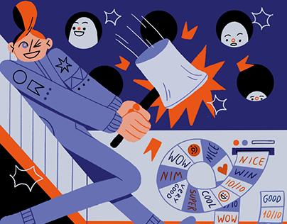 Blog illustration for Resume.io 2021