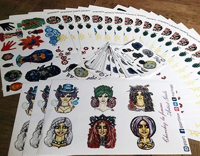 GQ Sticker Art