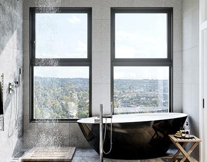 Penthouse Interior CGI