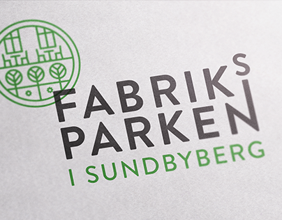 Logo and brand identity for Fabriksparken