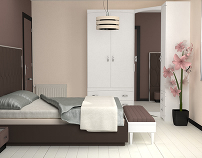 Habitación de Matrimonio 3d