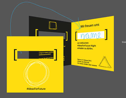 Branding + invitation card