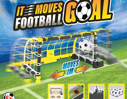 IT Moves Football Goal