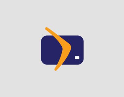 Card + Boomerang Logo