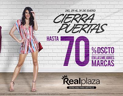 Real Plaza | Cierra Puertas