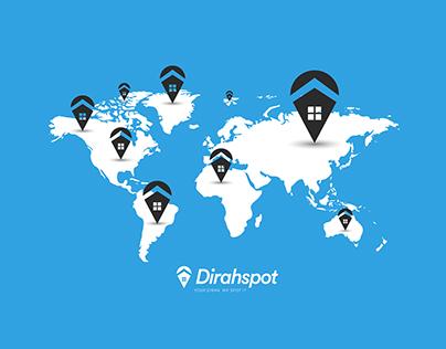 Diraspot Logo Design