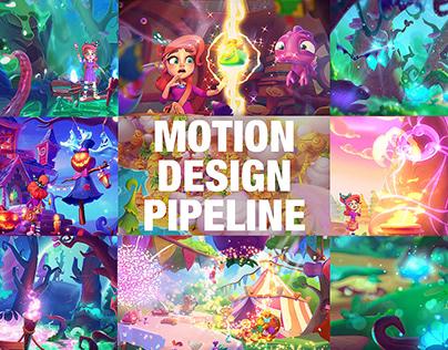 Game Story Promo - full motion design pipeline