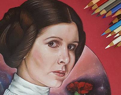 Princess Leia – Tribute