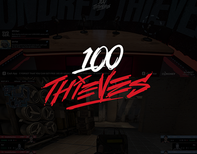 100 Thieves Tournament Concept